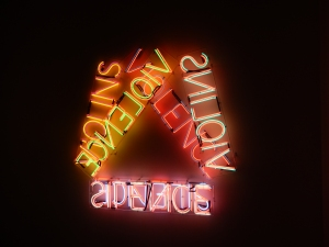Violins Violence Silence - by Bruce Nauman