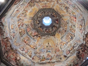 Ceiling of the Duomo