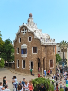 Real life gingerbread house by Gaudi