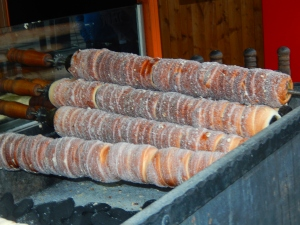 Tredelnik. A traditional Czech dessert. Yum!