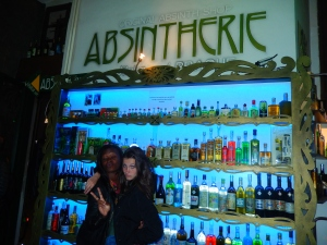 Absinthe bar with my favorite!!